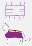 Как сделать попону для кошки из футболки
